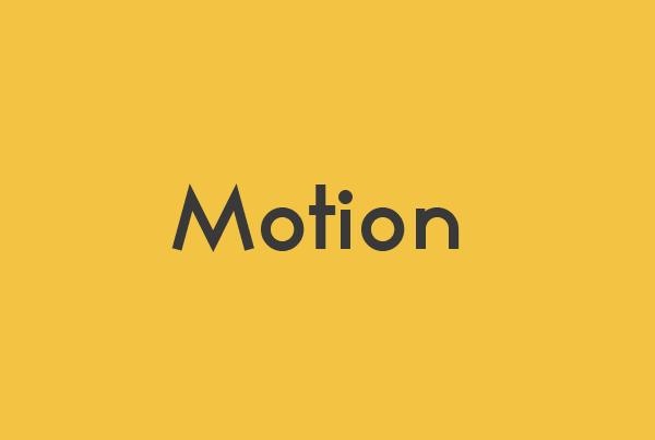 Motion/Reel